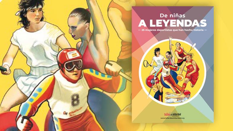 Libro de niñas a leyendas 25 historias de mujeres deportistas